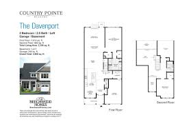 55 Harbour Square Floor Plans by Country Pointe Meadows U2013 Beechwood Homes