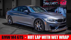 bmw m4 gts laps and wet wraps xpel matte youtube