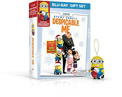 despicable me limited edition ornament gift set