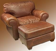 Best Leather Chair And Ottoman Best Leather Chair With Ottoman Leather Chair Roll Arm Custom
