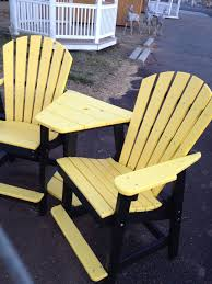 Best Poly Lumber Patio Furniture Monroe NC Images On Pinterest - Yellow patio furniture