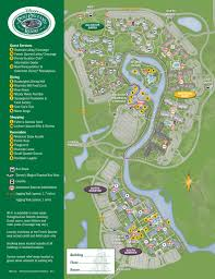 New Orleans City Park Map by 2013 Port Orleans Riverside Guide Map Photo 1 Of 4