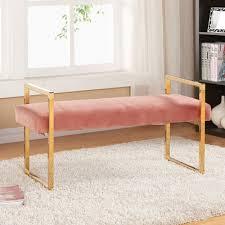 Meridian Bedroom Furniture by Meridian Furniture Usa Olivia Upholstered Bedroom Bench Upholstery