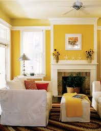 interior design beautiful white yellow small family room
