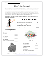 grade 4 language arts worksheets