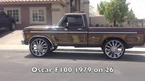 Classic Ford Truck Rims - 1979 ford f100 truck on 26 youtube