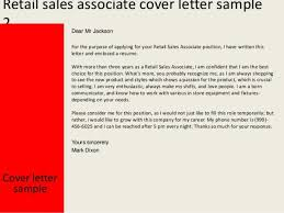 Cover Letter For Sales Associate Position At And T Sales Associate Cover Letter