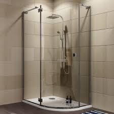 cooke u0026 lewis luxuriant offset quadrant lh shower enclosure tray