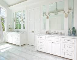master bathroom white master bathroom with bi fold doors and mosaic marble floor tiles