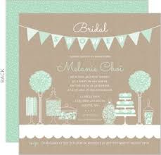 mint to be bridal shower bridal shower invitations beautiful custom wedding stationery