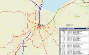 Northern Ireland Map Northern Ireland 1 50 000 Gazetteer Osni Ordnance Map