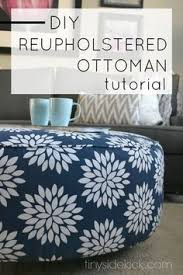 Couch Upholstery Cost Reupholstering Ottoman How To Do The Corners Diy Projects