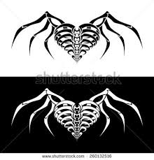 skeleton wings stock images royalty free images u0026 vectors