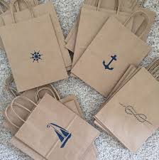 nautical bags nautical bags favor bags welcome bags destination coastal
