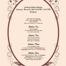 menu template sample for restaurant menu design with red outline