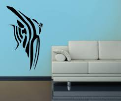 fish cichlid design 1 aquarium silhouette vinyl wall