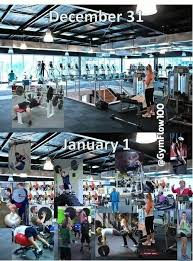 New Years Gym Meme - brace yourselves the new years resolution gym members are