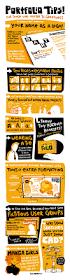infographic portfolio tips best designs award