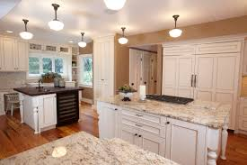 furniture white ice granite with wood flooring also recessed