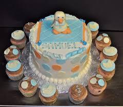 leah u0027s sweet treats baby duck baby shower cake u0026 cupcakes