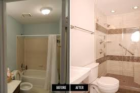Bathroom Makeovers Before And After Pictures - plain fine small bathroom remodels before and after 10 bathroom