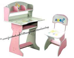 kids study desk and chair cheap factory price children study table