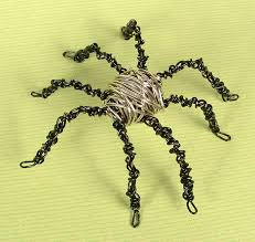 ornament countdown wire wrapped spider the crafty