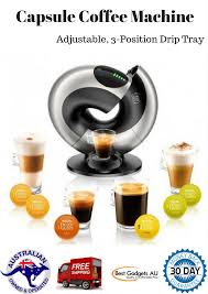 automatic coffee machine nescafe dolce gusto eclipse capsule tea