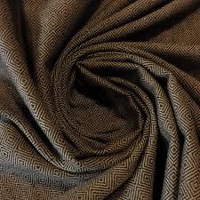 black silver colour geometric designer pattern soft chenille