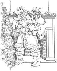 santa coloring book christmas coloring book wallpaper cutting