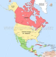 map n of america inside map of n roundtripticket me