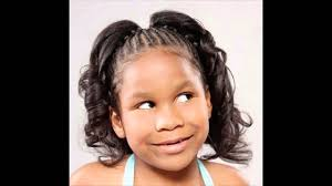 short ponytails for short african american hair african american little girl kids ponytail hairstyles pictures