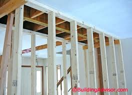 cost to remove a non load bearing wall removing part of a load
