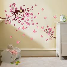Butterfly Wall Decals For Nursery by Wall Decals For Nursery Vinyl Art Ocean Life Theme Cute Wall