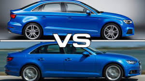 audi a3 vs a4 2018 2019 car release and reviews