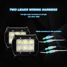 nilight led light bar review nilight led light bar wiring harness kit 12v on off switch power