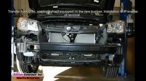 subaru forester grill guard 2014 subaru forester xt conversion front bumper kit youtube