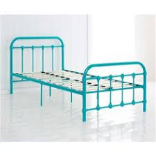 Single Bed Iron Frame Vintage Style Metal Frame Single Bed White Kmart 99 Don T