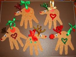 best 25 reindeer handprint ideas on