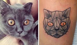 21 discreet tattoos for cat lovers