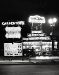 which corner does a st go on this is carpenter s drive in restaurant which stood on the corner