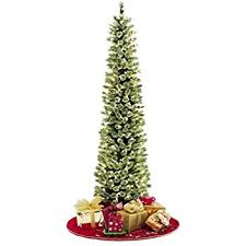pencil slim tree 7ft soft feel touch with stay