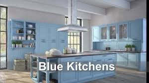 Kitchen Color Designs Blue Kitchens Cabinet Backsplash U0026 Paint Color Ideas Youtube