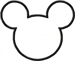 cut outs mickey mouse cut out free clip free clip on