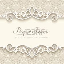 vintage background with paper border decoration ornamental frame