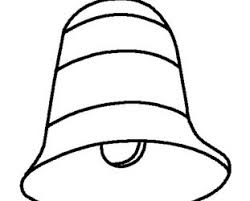 printable christmas bell coloring pages bell coloring pages