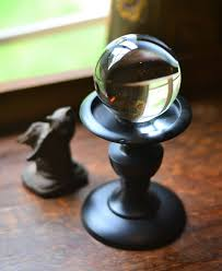 Gazing Ball And Stand Sphere Display Stand For Crystal Orb Orb Stand Gemstone Display