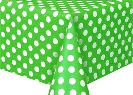 green table cover roll x polka dots plastic table cover lime green polka dot tablecloth