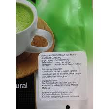 Teh Hijau Serbuk teh hijau aik cheong instant matcha latte teh pracur elevenia