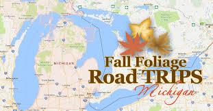3 fall foliage road trips autumn colors michigan